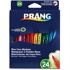 Dixon Prang Art Marker - Fine Point Type - 2 mm Point Size - Assorted - 24 / Set