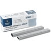 "Business Source Standard Staples - 210 Per Strip - 1/4"" Leg - 1/2"" Crown - Holds 30 Sheet(s) - Chisel Point - Silver - 5000 / Box"