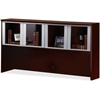 "Mayline Hutch - 71.8"" x 15"" x 38.5"" - Material: Veneer, Wood - Finish: Sierra Cherry"