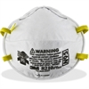 3M 8210PLUS N95 Particulate Respirator - Standard Size - Dust, Particulate Protection - Foam - White - 20 / Box