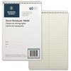 "Business Source Steno Notebook - 60 Sheets - Printed - Coilock - 6"" x 9"" - Green Tint Paper - 1Each"