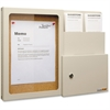 "Vertiflex Suggestion Box with Message Board - External Dimensions: 20.8"" Width x 2.9"" Depth x 15.5"" Height - Putty - 1 Each"