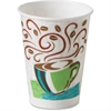 Dixie PerfecTouch WiseSize Hot Cup - 16 oz - 25 / Pack - Paper - Hot Drink