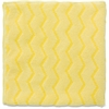 "Rubbermaid HYGEN Microfiber Bathroom Cloth - Cloth - 16"" Width x 16"" Length - 1 Each - Yellow"