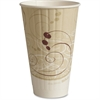 Solo Insulated Paper Hot Cups - 20 fl oz - 350 / Carton - Beige - Paper - Coffee, Hot Drink