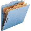 "Smead 100% Recycled Pressboard Colored Classification Folders - Letter - 8 1/2"" x 11"" Sheet Size - 2"" Expansion - 4 Fastener(s) - 1"" Fastener Capacity, 2"" Fastener Capacity - 2/5 Tab Cut - Right of Ce"