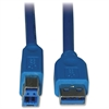 Tripp Lite 6ft USB 3.0 SuperSpeed Device Cable 5 Gbps A Male to B Male - (AB M/M) 6-ft