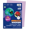 "Riverside Groundwood Construction Paper - 12"" x 9"" - 50 / Pack - Lilac - Groundwood"