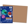 "Riverside Super Heavyweight Construction Paper - 18"" x 12"" - 76 lb Basis Weight - 50 / Pack - Light Brown - Paper, Card Stock"
