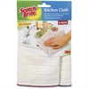 3M Microfiber Kitchen Cleaning Cloth - Cloth - 2 / Pack - White