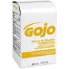 Gojo Gold & Klean Antimicrobial Lotion Soap - Fresh Scent Scent - 27.1 fl oz (800 mL) - Dirt Remover, Bacteria Remover, Kill Germs, Residue - Antimicrobial, Anti-bacterial, Leak Proof - 1 Each