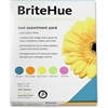 "BriteHue Copy & Multipurpose Paper - Letter - 8.50"" x 11"" - 24 lb Basis Weight - Smooth, Vellum - 250 / Pack - Ultra Lemon, Ultra Orange, Ultra Lime, Ultra Pink, Sea Blue"