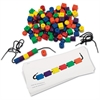 Beads and Pattern Card Set - Theme/Subject: Learning, Fun - Skill Learning: Tactile Discrimination, Visual, Shape, Patterning, Reading, Mathematics, Counting, Cardinality, Measureme