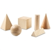 Learning Resources Wooden Geometric Shapes Set - Skill Learning: Geometry, Shape