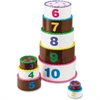 Smart Snacks Stack & Count Layer Cake - Theme/Subject: Learning - Skill Learning: Motor Skills, Even Number, Odd Number, Number Recognition, Mathematics