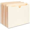 "Business Source Expanding File Pockets - Letter - 8 1/2"" x 11"" Sheet Size - 2"" Expansion - Manila - Recycled - 50 / Box"