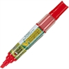 BeGreen VBoard Master Whiteboard Marker - Broad Point Type - Chisel Point Style - Refillable - Red - 1 Each