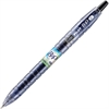 BeGreen B2P Gel Pen - Fine Point Type - 0.7 mm Point Size - Refillable - Black Gel-based Ink - Plastic Barrel - 1 Each