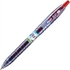 BeGreen B2P Gel Pen - Fine Point Type - 0.7 mm Point Size - Refillable - Red Gel-based Ink - Plastic Barrel - 1 Each