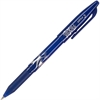 FriXion Ball Gel Pen - Fine Point Type - 0.7 mm Point Size - Blue Gel-based Ink - Blue Barrel - 1 Each