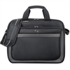 "Solo Sterling Carrying Case (Briefcase) for 15.6"" Notebook - Black - Ballistic Poly, Polyester - Handle, Shoulder Strap - 12.8"" Height x 15.3"" Width x 7"" Depth"