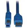 Tripp Lite 3ft USB 3.0 SuperSpeed Device Cable 5 Gbps A Male to B Male - (AB M/M) 3-ft.