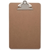 "Business Source Clipboard - Standard - 6"" x 9"" - Hardboard - Brown"
