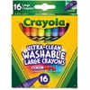 Crayola Washable Crayons - 16 / Box