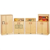 Jonti-Craft - Natural Birch Play Kitchen Set - Wood