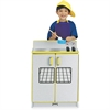 Rainbow Accents - Play Kitchen Stove - Wood