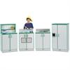 Jonti-Craft - Rainbow Accents Toy Kitchen Set - Wood