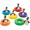 Smart Splash Color Play Penguins - Theme/Subject: Fun - Skill Learning: Visual Discrimination, Tactile Discrimination, Color Identification, Shape Differentiation, Fine Motor, Number Recognition, Lett