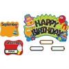 Trend Birthday Festival Mini Bulletin Board Set - Festival, Birthday Theme/Subject - 31 , 12 Month Heading - Multicolor - 1 Set
