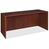 "Lorell Essentials Credenza Shell - 66.1"" x 23.6"" x 29.5"" - Finish: Laminate, Mahogany"