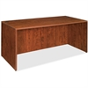 "Lorell Essentials Rectangular Desk Shell - 70.9"" x 35.4"" x 29.5"" - Finish: Cherry, Laminate"