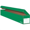 "Bankers Box Trimmer Storage Boxes - Internal Dimensions: 39.50"" Width x 4.75"" Depth x 4.75"" Height - External Dimensions: 40.4"" Width x 5"" Depth x 5"" Height - Corrugated Paper - Green - For Trimmer -"