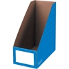 "Bankers Box 6"" Magazine File Holders - Blue - 3 / Pack"