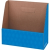 "Bankers Box Folder Holders - 1 Compartment(s) - Compartment Size 11"" x 11.75"" x 4.50"" - 11.3"" Height x 5"" Width x 12.1"" Depth - Desktop - Recycled - Blue - Corrugated Paper - 12 / Carton"