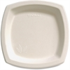 "Solo Bare Sugar Cane Plates - 8.25"" Diameter Plate - Off White - 125 Piece(s) / Pack"