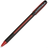 Uni-Ball Jetstream 101 Rollerball Pen - Bold Point Type - 1 mm Point Size - Red Gel-based Ink - Red Barrel - 1 Each