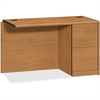 "HON 10711R Right Return - 48"" x 24"" x 29.5"" - Material: Wood - Finish: Harvest, Laminate"