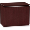 "Bush Business Furniture Milano2 36W Storage Cabinet - 35.8"" x 23.4"" x 29.6"" - Finish: Harvest Cherry"