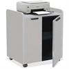 "Mayline 2110MU Printer Cabinet - 150 lb Load Capacity - 1 x Shelf(ves) - 31"" Height x 27"" Width x 20"" Depth - Steel - Nebula Gray"