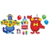 "Trend Furry Friends Birthday Fun Bulletin Board Set - 17.50"" Height x 25.50"" Width - Assorted - 1 / Set"