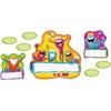 "Trend Frog-tastic Jump-Starters Bulletin Board Set - 17.50"" Height - Assorted - 39 / Set"