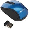 Verbatim Wireless Mini Travel Optical Mouse - Blue - Radio Frequency - USB - 1600 dpi - Scroll Wheel