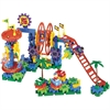 Gears!Gears!Gears! Dizzy Fun Land Motorized Gears Set - Theme/Subject: Fun, Learning - Skill Learning: Creativity, Problem Solving, Construction, Fine Motor, Building, Motor Skills - 120 Pieces
