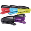 "PaperPro inSPIRE 15 Compact Stapler - 15 Sheets Capacity - 105 Staple Capacity - Half Strip - 1/4"", 26/6mm Staple Size - Assorted"