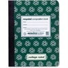 "Roaring Spring Environotes Recycled Composition Book - 80 Sheets - Printed - Sewn/Tapebound 9.75"" x 7.50"" - Green Cover - Recycled - 1Each"