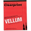 "Clearprint Vellum Pad - 50 Sheets - Plain - 16 lb Basis Weight - Letter 8.50"" x 11"" - White Paper - 50 / Pad"